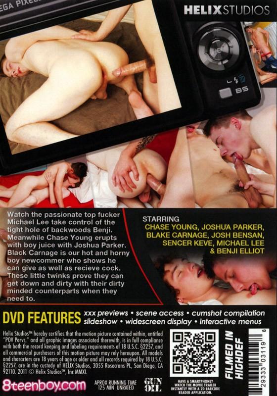 POV Pervs DVD - Back