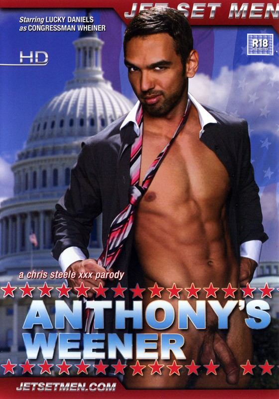 Anthony's Weener DVD - Front