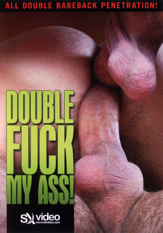 Double Fuck My Ass! DVD - Front
