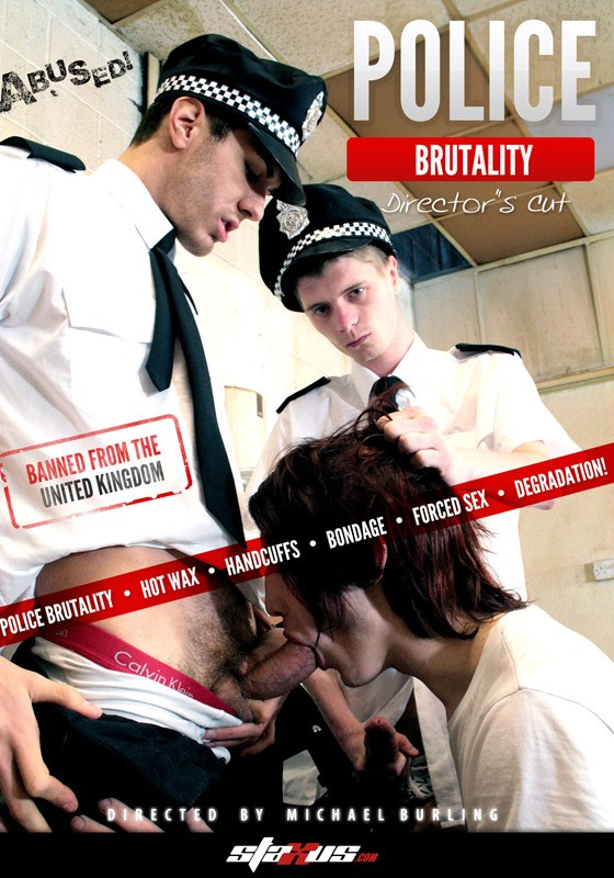 Police Brutality (Director's Cut) DVD - Front