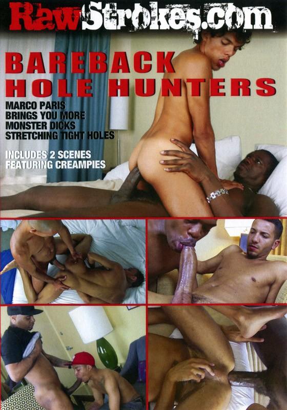 Bareback Hole Hunters DVD - Front