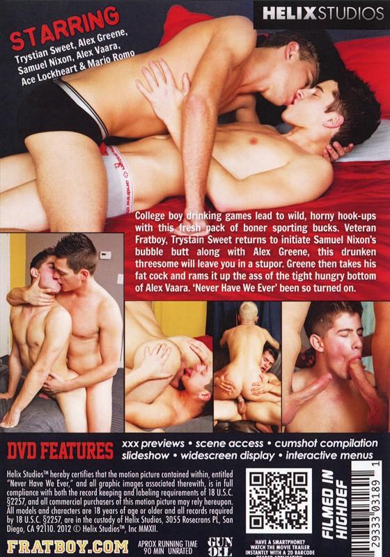 Never Have We Ever DVD - Back