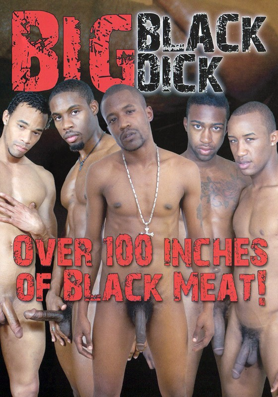 Big Black Dick DVD - Front