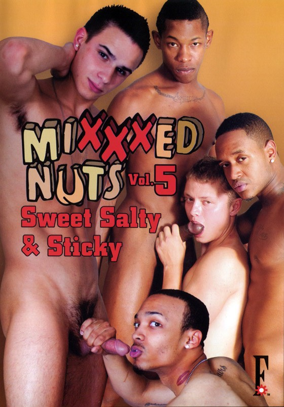 Mixxxed Nuts 5: Sweet, Salty & Sticky DVD - Front