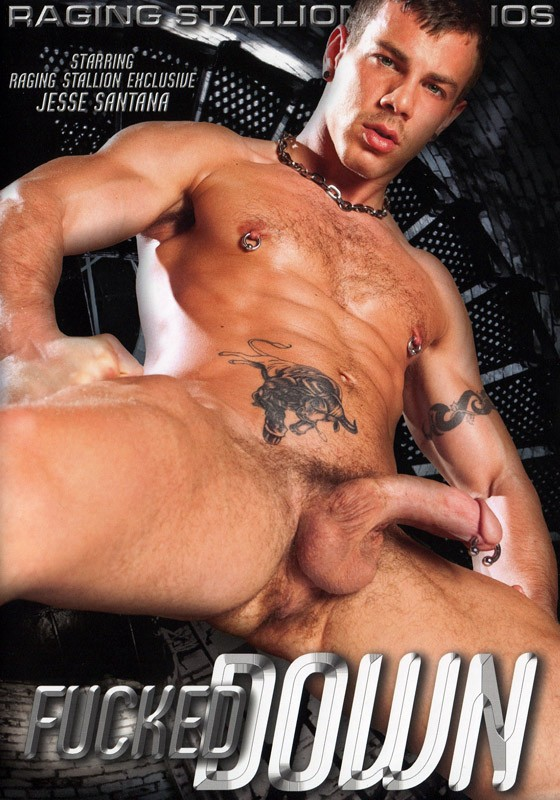 Fucked Down DVD - Front
