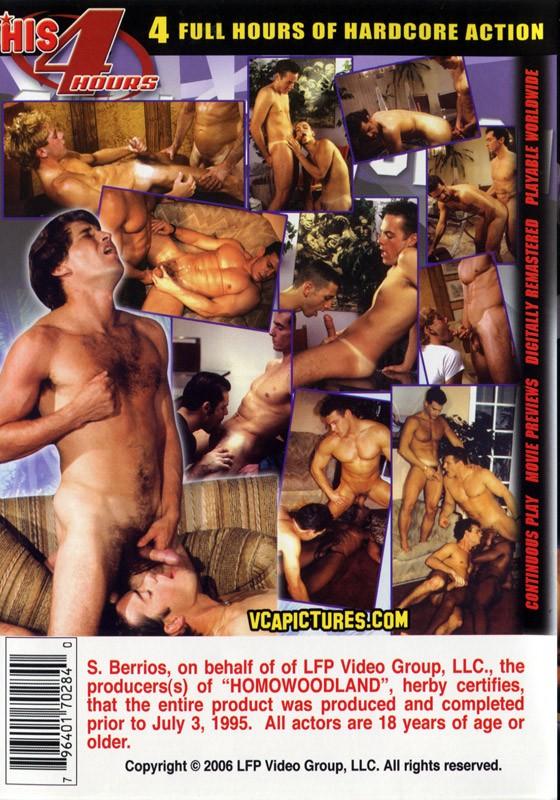 Homowoodland DVD - Back