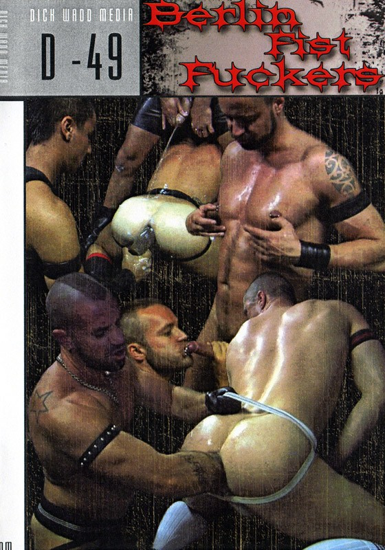 Berlin Fist Fuckers DVD - Front
