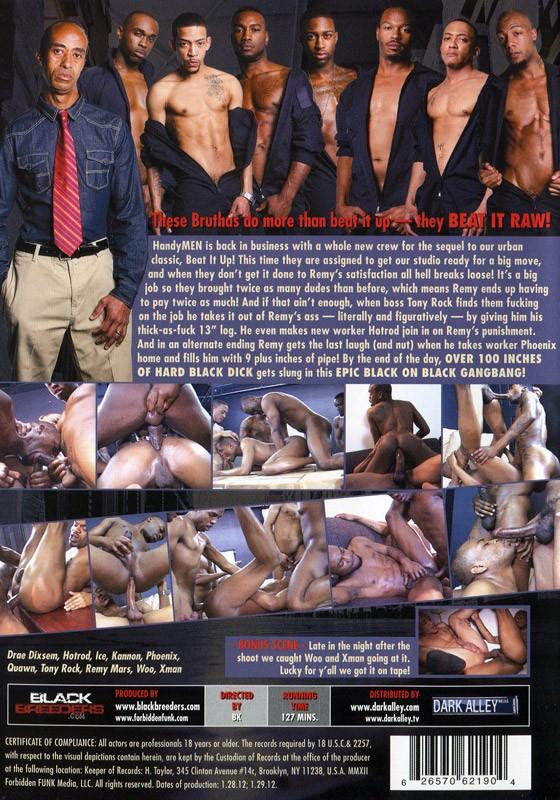 Beat It Raw! DVD - Back