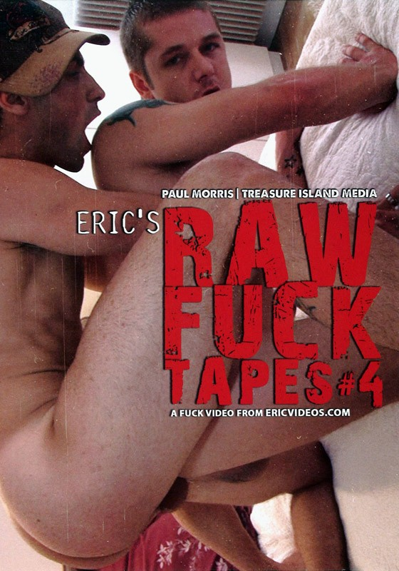 Eric's Raw Fuck Tapes 4 DVD - Front
