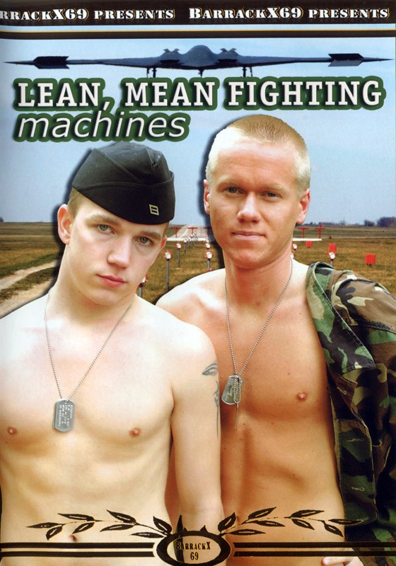 Lean Mean Fighting Machines DVD - Front