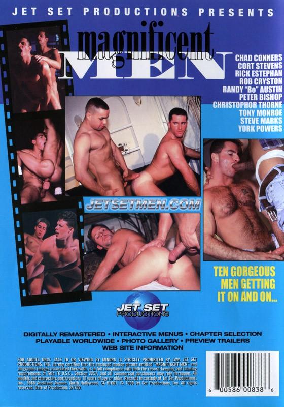 Magnificent Men DVD - Back