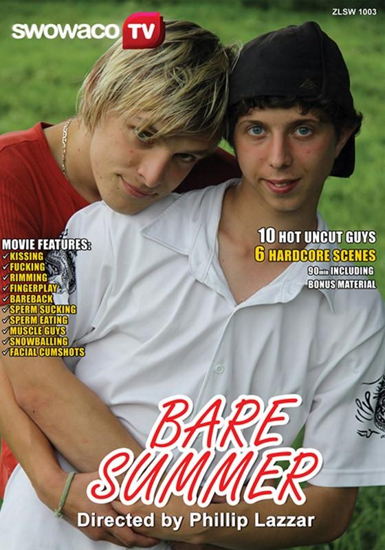 Bare Summer DVD - Front