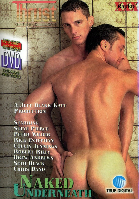 Naked Underneath DVD - Front