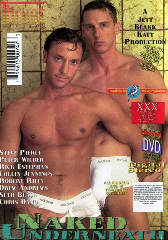 Naked Underneath DVD - Back