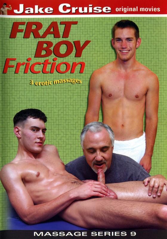Massage Series 9: Frat Boy Friction DVD - Front