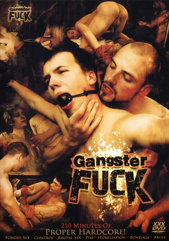 Gangster Fuck DVD - Front