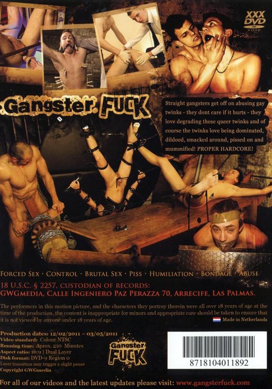 Gangster Fuck DVD - Back