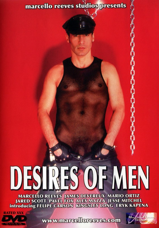 Desires of Men DVD - Front