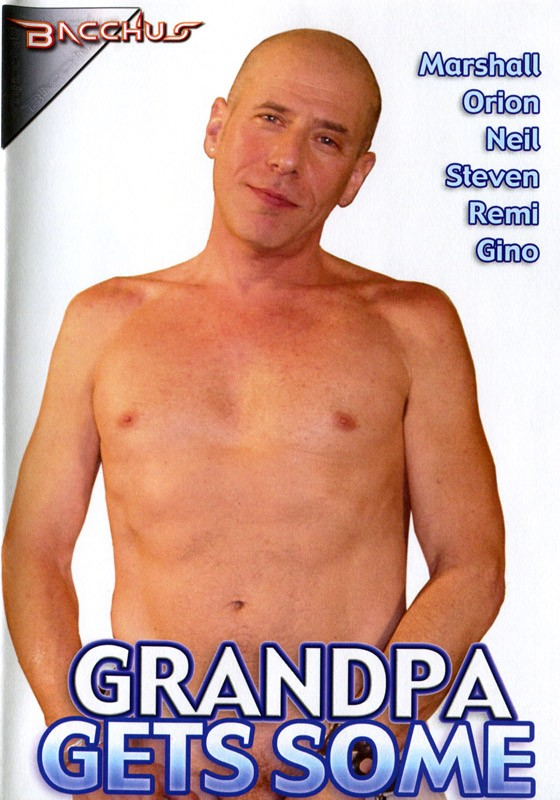 Grandpa Gets Some DVD - Front
