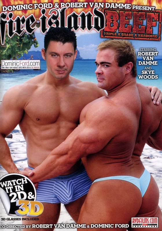Fire Island Beef DVD - Front