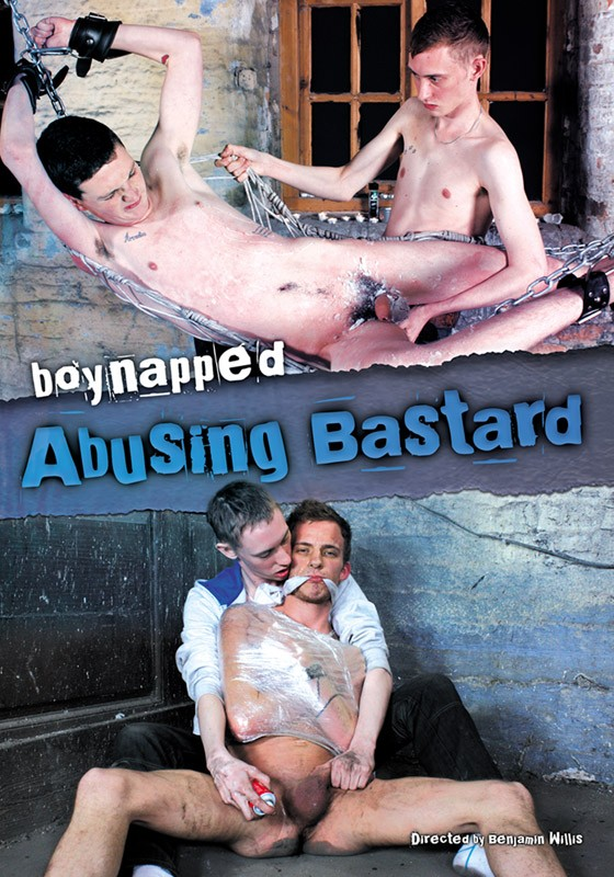 Boynapped 6: Abusing Bastard DVD - Front