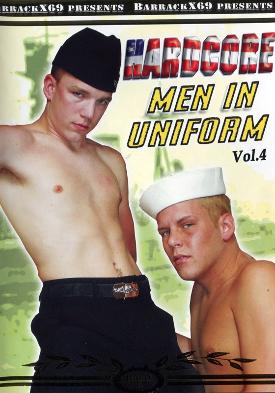 Hardcore Men in Uniform Vol.4 DVD - Front