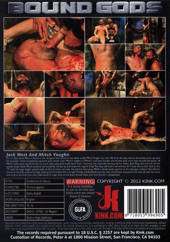 Bound Gods 11 DVD (S) - Back