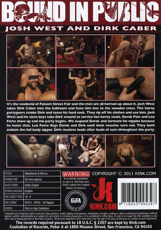 Bound In Public 1 DVD DISCONTINUED - Back