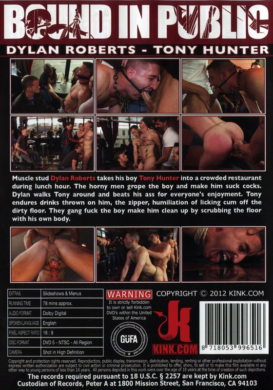 Bound In Public 6 DVD DISCONTINUED - Back