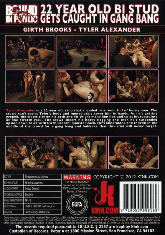 Bound In Public 16 DVD (S) - Back