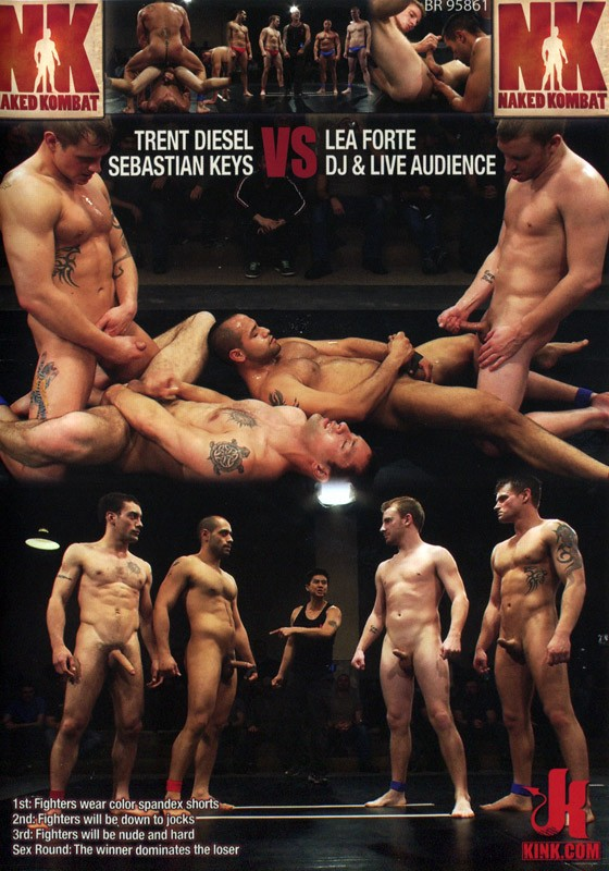 Naked Kombat 5 DVD (S) - Front
