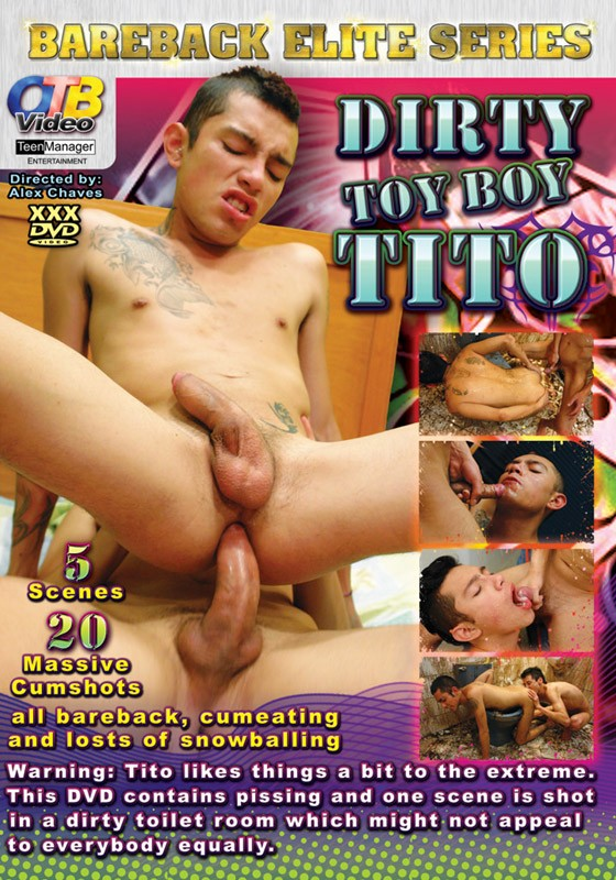 Dirty Toy Boy Tito DVD - Front