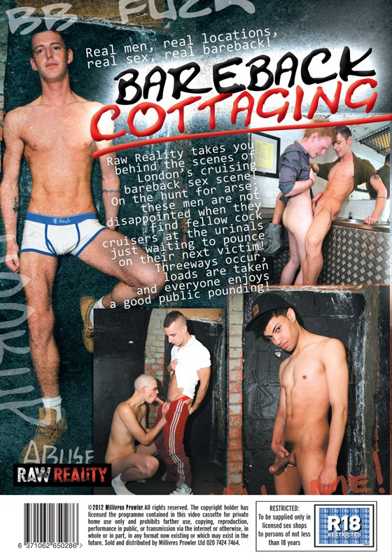 Bareback Cottaging DVD - Back