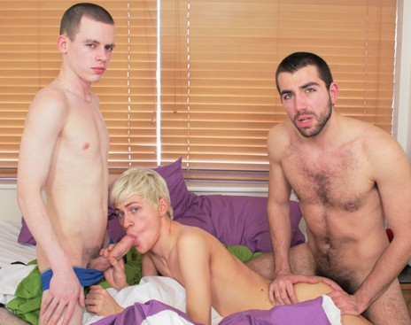 Cute Twinks Take Monster Cocks DVD - Gallery - 004