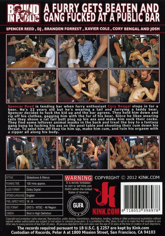 Bound In Public 20 DVD (S) - Back