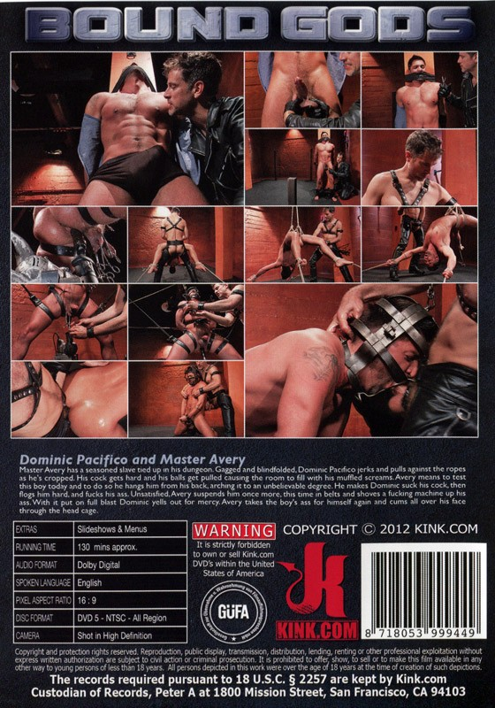 Bound Gods 23 DVD (S) - Back