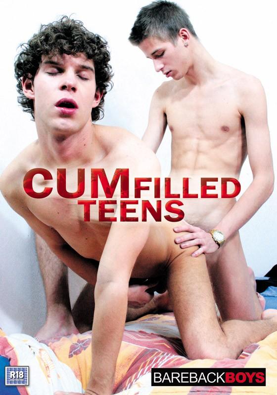 Cum Filled Teens DVD - Front