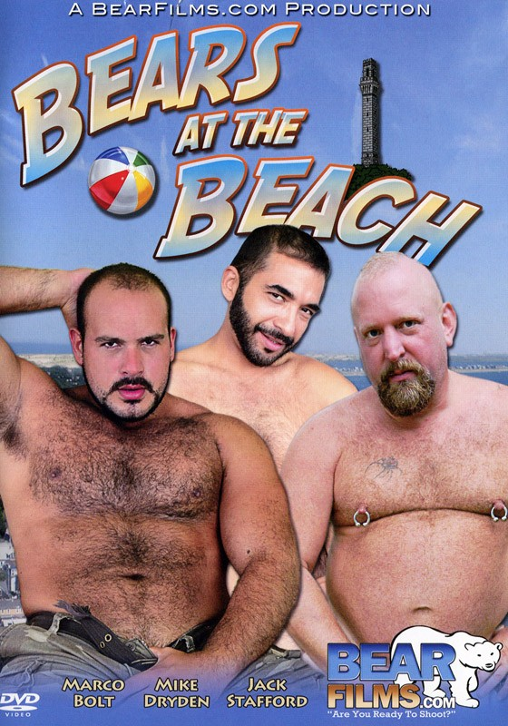 Bears at the Beach DVD - Front