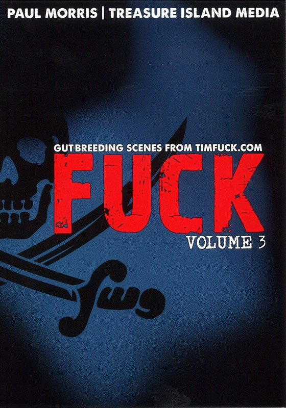 Fuck Volume 3 DVD - Front