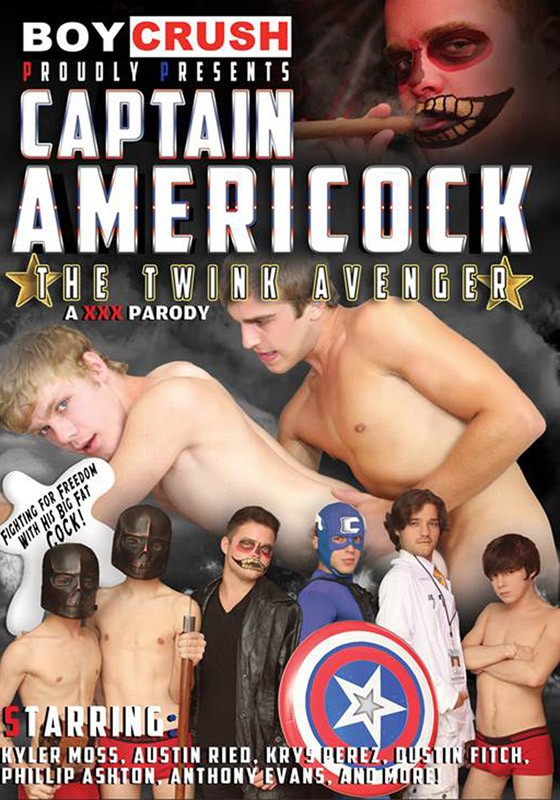 Captain Americock: The Twink Avenger DVD - Front
