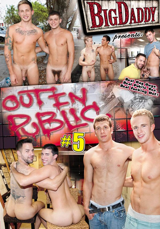 Out in Public 5 DVD - Front