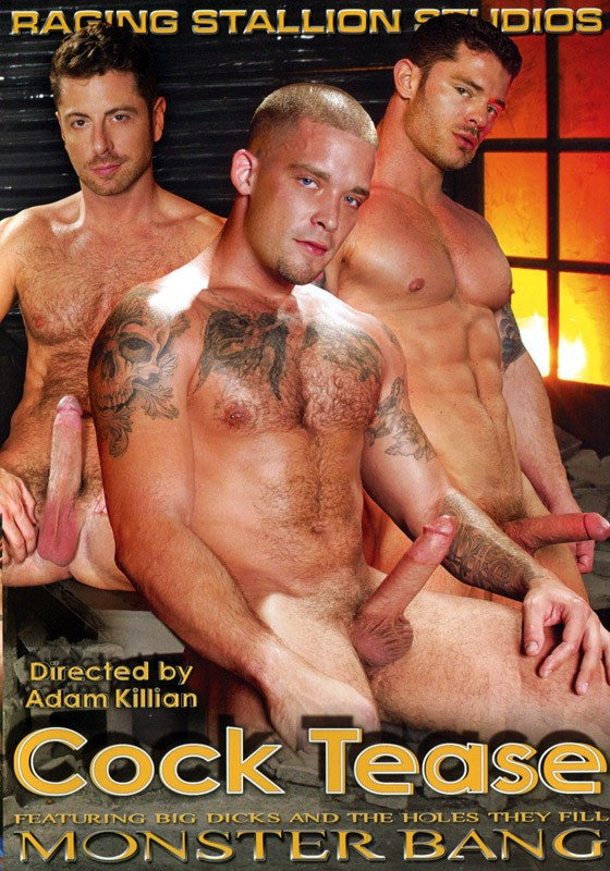 Cock Tease DVD - Front