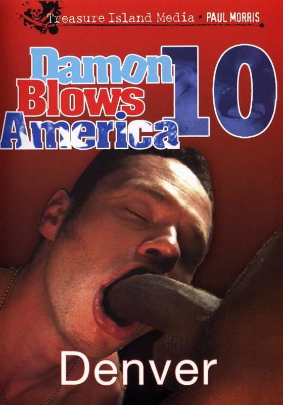 Damon Blows America #10 DVD - Front