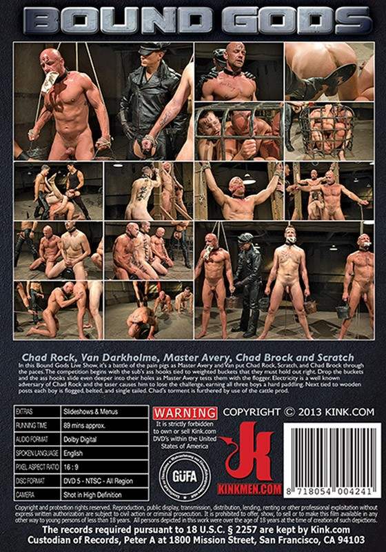 Bound Gods 29 DVD (S) - Back