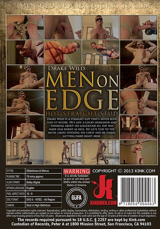 Men On Edge 5 DVD (S) - Back