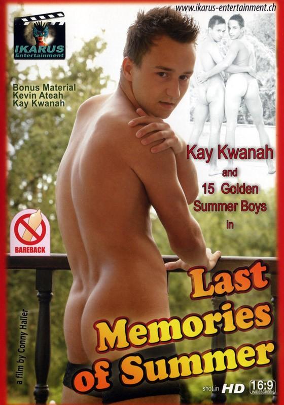 Last Memories of Summer DVD - Front