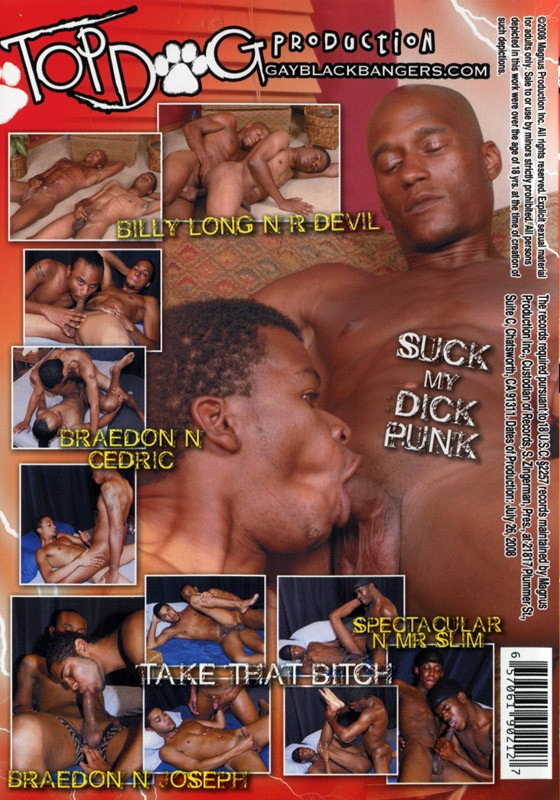 Black Bangers DVD - Back