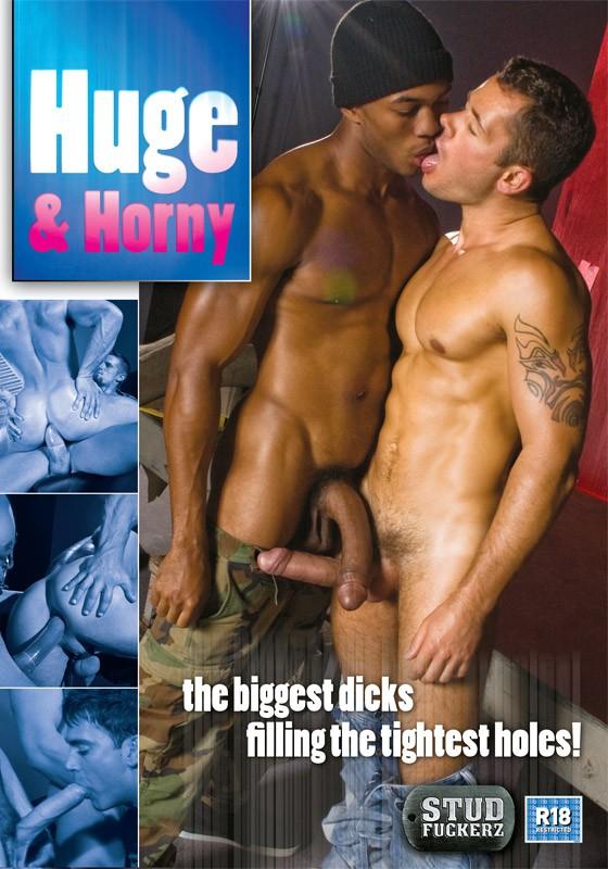 Huge & Horny DVD - Front