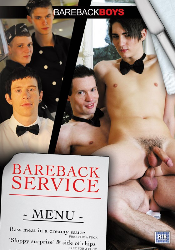 Bareback Service DVD - Front