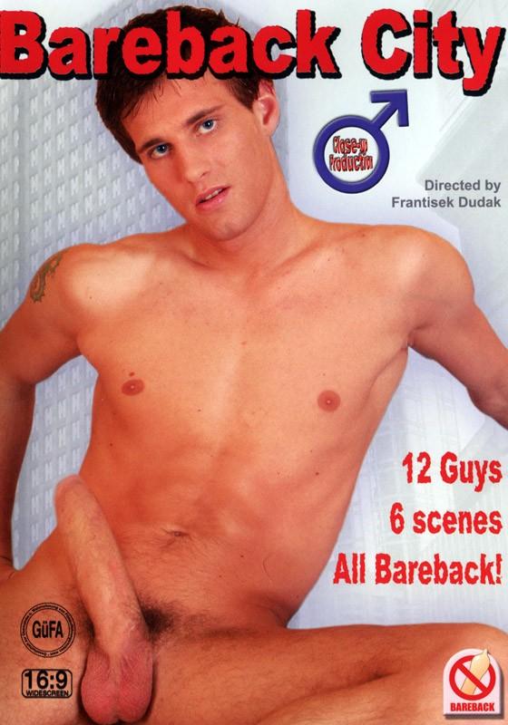 Bareback City DVD - Front